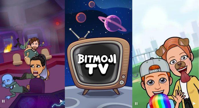 Snapchat Bitmoji TV