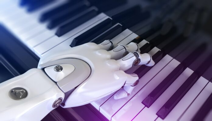Robot Plays the Piano